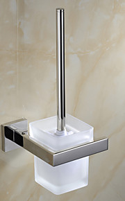 Toilet Brush Holder Contemporary Stainless Steel 1 pc - Hotel bath