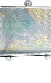 carking ™ intrekbare auto autoruit roller zonnescherm blind beschermer met zuignappen (50 * 125)