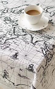 Nahka Neliö Table Cloths Patterned Ekologinen Pöytäkoristeet