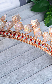 Kristal Strass Legering tiaras 1 Bruiloft Speciale gelegenheden  Helm