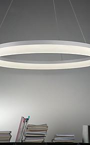 원형 펜던트 조명 엠비언트 라이트 Painted Finishes 금속 아크릴 LED 90-241V 웜 화이트 / 화이트 / Wi-Fi 스마트