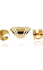 Damen Bandring - Modisch Golden Ring Für Hochzeit Party Alltag Normal