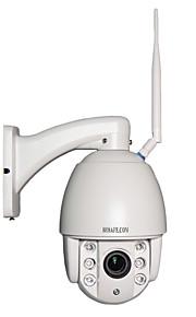 Hosafe® 960p 4x zoom automatico di messa a fuoco mini cupola ptz wifi ip camera w / rilevazione di movimento di visione notturna