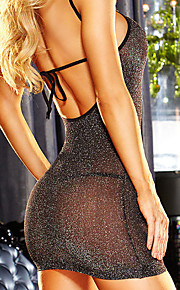 Women's Suits Ultra Sexy Nightwear - Mesh, Solid Colored