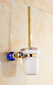 Toalettbørsteholder Moderne Messing 1 stk - Hotell bad