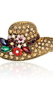 Dames Broches - Strass Modieus, Euramerican Broche Goud Voor Bruiloft / Feest / Speciale gelegenheden / Dagelijks