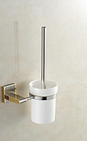 Toalettbørsteholder Høy kvalitet Neoklassisk Metall 1 stk - Hotell bad Vægmonteret