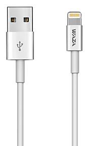 USB 2,0 / Osvětlení Adaptér kabelu USB Kabel / Nabíjecí kabel / Data a synchronizace Běžný Kabel Pro iPad / Apple / iPhone 100 cm Pro TPE / PC