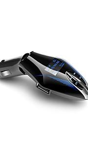 bt658 fm zender handsfree bluetooth auto kit draadloze mp3 radio modulator audio speler spanning lcd display usb autolader