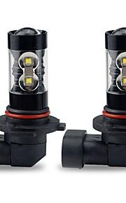2pcs Elpærer 50W W Høj præstations-LED lm 10 Hovedlygte ForToyota Corolla 2016 2015 2014 2013 2012 2011 2010 2009 2008 2007 2006