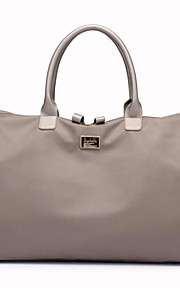 Oxford Cloth Travel Bag Zipper for Casual All Seasons Black Gray Purple