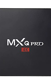 MXQ Pro Android7.1.1 TV Box Amlogic S905W UP TO 2.0 GHz, Quad core ARM Cortex-A53 1GB RAM 8GB ROM Penta Core
