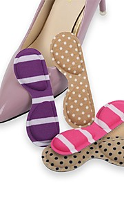 1 Pair Wearable Orthotic Insole & Inserts Nylon Heel Unisex Purple Blue Pink Almond White/Green
