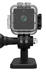 1080p sq12 mini dv actie camera recorder sport 30m waterdichte shell micro camcorder / 155wide hoek / nachtzicht