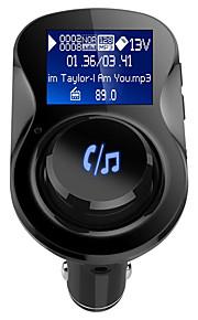 Elektronik GXT BC28-1 Bluetooth 4.2 Batterioplader mp3 afspiller Bluetooth mp3