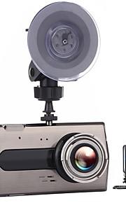 T667 720p 1080p 640 x 480 Automobile DVR 4inch Dash Cam con G-Sensor Registratore per auto