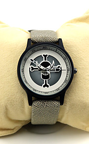 Часы Вдохновлен One Piece Ace Аниме Косплэй аксессуары Часы Хром