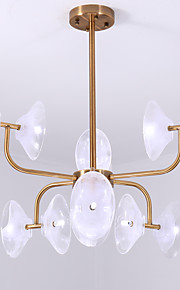 ZHISHU Chandelier Ambient Light - Mini Style, Nature Inspired Chic & Modern, 110-120V 220-240V Bulb Not Included