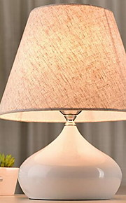Tradicional/Clásico Decorativa Lámpara de Mesa Para Cerámica Blanco Negro