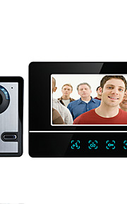 MOUNTAINONE SY811FA11 7 Inch Video Door Phone 7inch Sistema Hands-Free 700 TV Line One to One video citofono