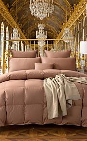 Comfortabel - 1 bedsprei Winter Wit ganzendons Effen