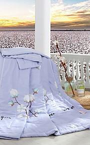 Comfortabel - 1 bedsprei Lente & Herfst Polyester Bloemen