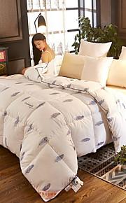 Comfortabel - 1 bedsprei Winter Wit ganzendons Geometrisch