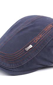 男性用 ベーシック ストライプ ベレー帽
