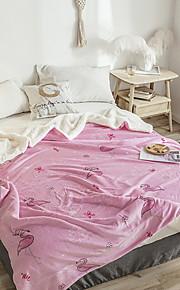 Přikrývky, Geometrický Bavlna / polyester Zahustit přikrývky