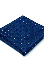 男性用 オフィス / ベーシック 水玉 / 波点 / ジャカード ポケットの正方形