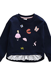 2a8aac96c6b 34 Μωρό Κοριτσίστικα Βασικό Καθημερινά Μονόχρωμο Μακρυμάνικο Βαμβάκι Μπλούζα  με Κουκούλα & Φούτερ Βαθυγάλαζο / Νήπιο