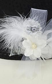 Svatební kytice Kytičky do klopy   Vlasové ozdoby Svatební    Svatebnívečírek Husí peří   Popelín bez ff115ca328