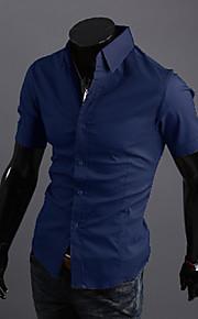 男性用 シャツ ビジネス / ベーシック ソリッド