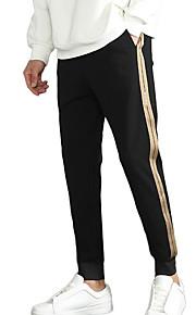 Ανδρικά Λεπτό Αθλητικές Φόρμες Παντελόνι - Μονόχρωμο Μαύρο