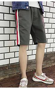 男性用 ショーツ パンツ - カラーブロック ブラック