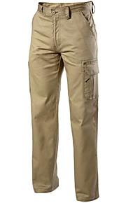 男性用 ストリートファッション スーツ パンツ - ソリッド ホワイト