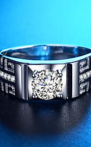 мужские европейские / модные латунные кольца