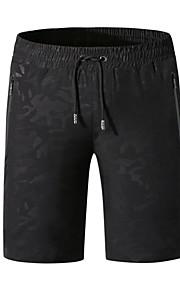 男性用 プラスサイズ ブルー ブラック アーミーグリーン スイミングトランクス ボトムス スイムウェア - 幾何学模様 XXXXL XXXXXL XXXXXXL ブルー