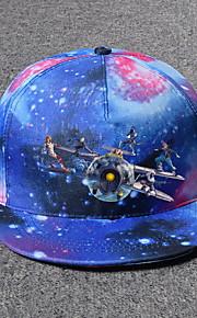Unisex Lienzo Gorra de Béisbol-Básico Galaxia Azul Piscina