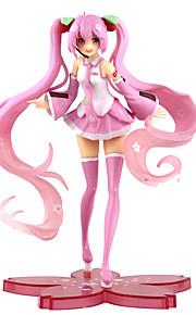 애니메이션 액션 피규어 에서 영감을 받다 보컬로이드 Hatsune Miku PVC 18 cm CM 모델 완구 인형 장난감