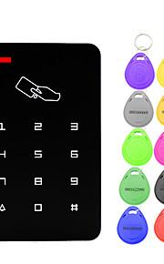 5YOA B09-10KeyTK4100 액세스 제어 시스템 세트 / 액세스 제어 키패드 RFID 암호 / ID 카드 홈 / 아파트 / 학교