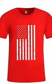 Ανδρικά T-shirt Μονόχρωμο Μαύρο L