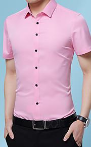 Heren Overhemd Grafisch Marineblauw XXXL