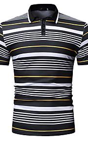 Муж. Рубашка Однотонный Черный XL