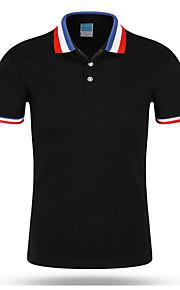 T-skjorte Herre - Ensfarget Svart XL