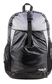 TULN® Batohy 25 L - Odolné vůči dešti Outdoor Turistika Polyester Černá Červená Šedá
