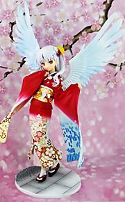 애니메이션 액션 피규어 에서 영감을 받다 엔젤 비트 Kanade Tachibana PVC 19 cm CM 모델 완구 인형 장난감