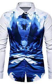 Camicia Per uomo Monocolore Bianco XL