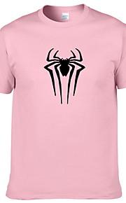 Ανδρικά T-shirt Ζώο Στάμπα Κίτρινο L