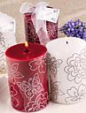 Temă Flurure Favoruri lumânare Piece / Set Lumânări Nepersonalizat Alb